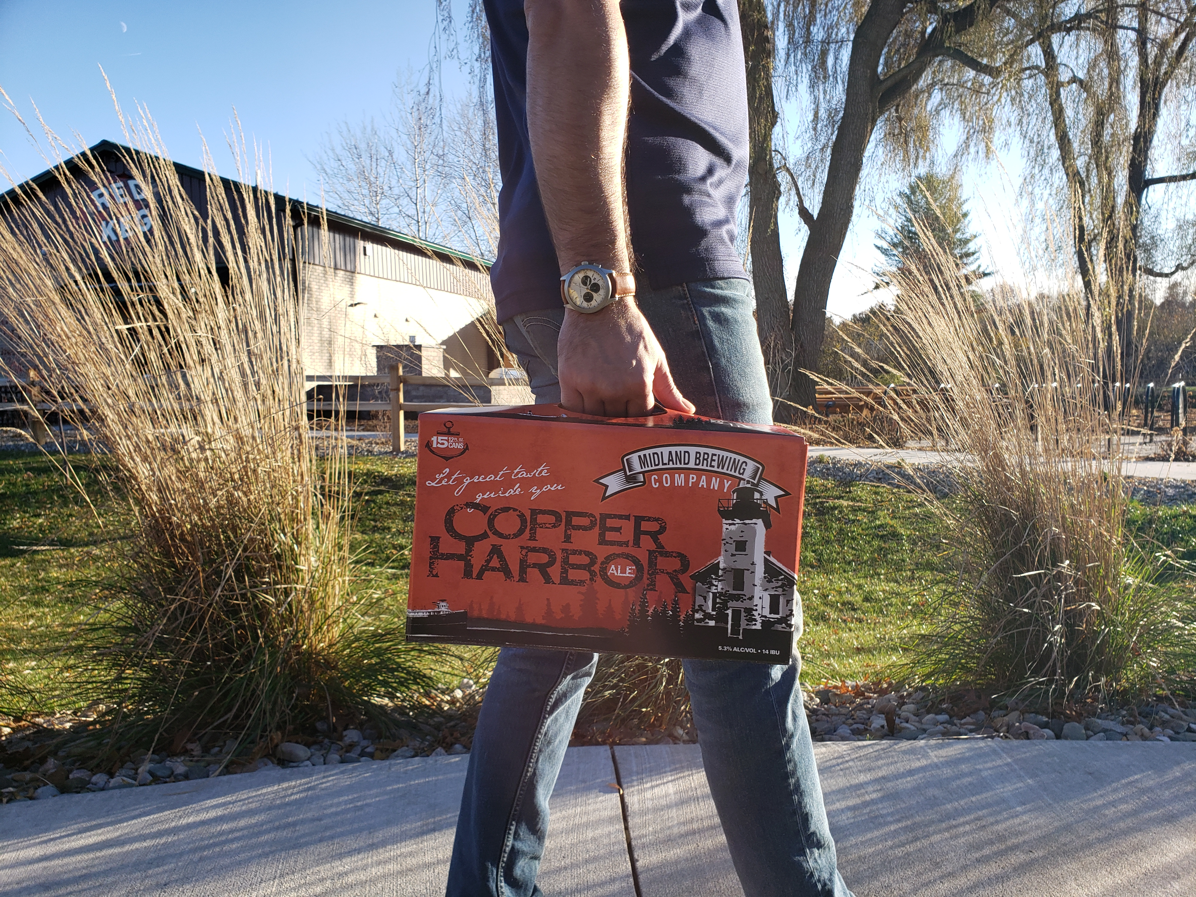 Pick up a 15 pack of our Copper Harbor before you head out for the weekend!